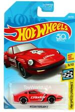 2018 Hot Wheels #244 HW Speed Graphics Nissan Fairlady Z GReddy red