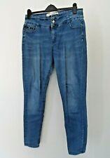 Blue High Waisted Jeans * Size 16 * Denim & Co. *
