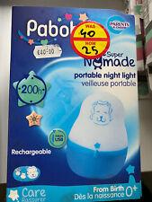 Pabobo Portable Night Light Blue