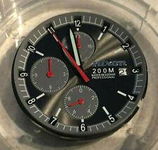Nixon Super Rover Chronograph Watch Movement Miyota Japan Brown Dial