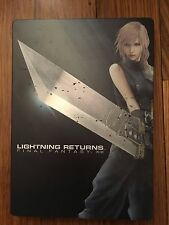 Lightning Returns: Final Fantasy XIII Steelbook Case (Xbox 360, 2014) NO GAME
