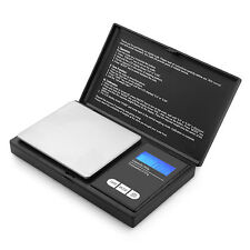 Digital Scales 0.01g x 200g Pocket Weighing Electronic Gold Jewellery Herb oz ct