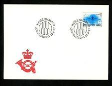 Postal History Denmark Fdc #842 sports rowing 1987