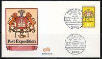 Germany 1978 cover SST Sonderstempel Frankfurt am Main Naposta'78 Briefmarkenkun