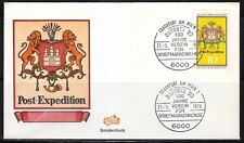 Germany 1978 cover SST Sonderstempel Frankfurt am Main Naposta'78 Briefmarkenkun