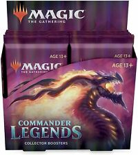 Commander Legends Collector Booster Box Sealed Magic the Gathering