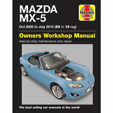car truck service repair manuals for mazda for sale ebay rh ebay com 2015 Mazda Miata 2015 Mazda Miata