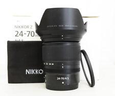 """Nikon NIKKOR Z 24-70mm F/4 S Lens """"Mint"""""""