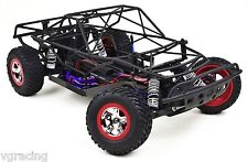 Traxxas Slash 2x4 LCG Powder Coated Matt Black Roll Cage Fits Traxxas 58076-21