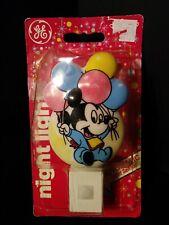 Vintage Mickey Mouse Disney Babies Night Light Ge