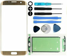Front Outer Glass Screen Replacement Repair Kit Samsung Galaxy S7 Edge Gold