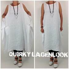 Vestiti da donna Hippie bianco casual