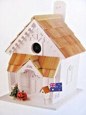 Boyles Wooden Victorian Style Garden Birdhouse - Seasons Tweeting Cottage House