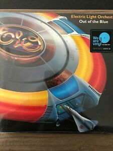 ELECTRIC LIGHT ORCHESTRA OUT OF THE BLUE 2 X LP VINYL SET (Released 2016)