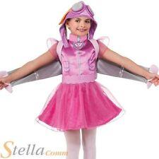 filles Skye Paw Patrol dessin animé Chien Pilote costume déguisement Enfants