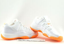 ce4ee0d799d6 Nike Air Jordan 11 Retro Low GG Girls Womens White Citrus Aj11 SNEAKERS  Shoes