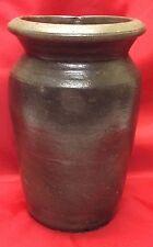 Antique Piedmont North Carolina Storage Jar, Jam Jar