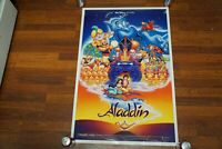 ALADDIN MOVIE POSTER DOUBLE Sided ORIGINAL DISNEY ROBIN WILLIAMS NEW NUMBERED