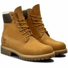 BNIB Timberland 6 Inch Premium Fur Lined Boots A13GA size uk 8 eur 42 RRP £190
