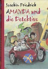Amanda X Amanda und die Detektive von Joachim Friedrich NEU