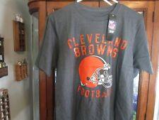New listing NFL Team Apparel Cleveland Browns Football Men's Medium Graphic T Shirt Grey