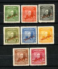 Costa Rica Stamps # 251-55 Nh Specimen Set