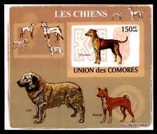 KOMOREN EPREUVE DE LUXE HUNDE HUND DOGS DOG CHIENS CHIEN DELUXE SHEET dg32