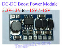 3W DC-DC Boost Converter 3.3V-12V to ± 15V Output Step up Power Supply Module