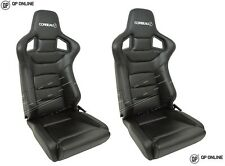 Corbeau (DA7310) Sportline RRS Low Base Vinyl Seats Pair