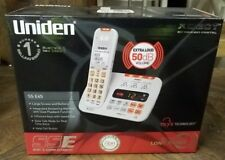 Uniden signs & sound enhanced cordless home work phone SSE45W telephone NEW