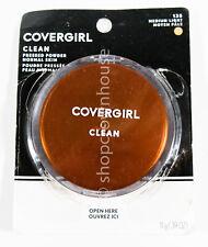 Covergirl Clean Normal Skin Pressed Powder #135 MEDIUM LIGHT - updated packaging