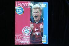 Panini Bayern München 2000/2001: Complete Set Leeralbum + Bildersatz