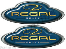 Regal Boat Oval Decal Set - Name Plate