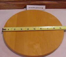 "New ListingLongaberger Baskets Woodcrafts Classic 9"" Round Bottom Shelf For Umbrella Stand"