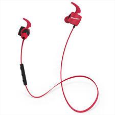 Bluedio TE (Turbine) Écouteur de Sport Course Bluetooth 4.1 sans fil (Rouge)