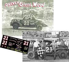 CD_1923 #21 Glenn Wood  1939-40 Ford  1:24 decals  ~SALE~