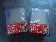 Ultra Pro -  50 Regular Toploader  Card ProtectionTop Loader   NEU/OVP