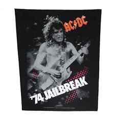 AC/DC Backpatch '74 Jailbreak' Rückenaufnäher ♫ Heavy Metal ♪ Blues Rock ♫