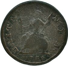1736 FARTHING GEORGE II.  - GREAT BRITAIN NICE COLLECTIBLE COIN