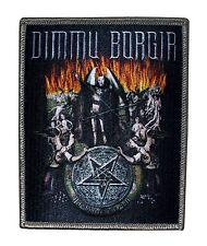 """Dimmu Borgir"" Satanic Band Art Black Metal Music Scene Iron On Applique Patch"