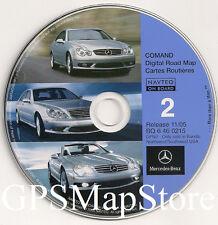 2000 2001 2002 Mercedes E55 E430 E320 Navigation CD Map AZ CO ID OR NM WA WY UT