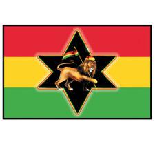 Rasta Flag Sticker Decal Lion of Judah Rastafarian