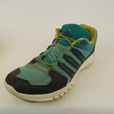 Adidas Womens YYA606001 Blue Navy Green Sneakers Athletic Shoes sz 6.5 M Bungee