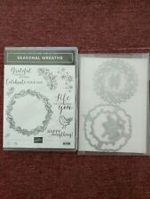 Stampin' Up! SEASONAL WREATHS &   WREATH DIES | S