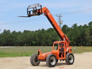 2013 JLG Skytrak 6042 6,000lbs Telescopic Reach Forklift 42' Telehandler bidadoo