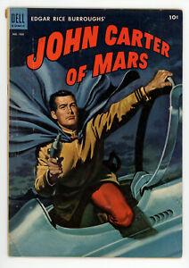 JERRY WEIST ESTATE: FOUR COLOR COMICS #488 ERB'S JOHN CARTER OF MARS VG
