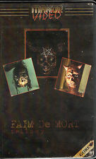 Faim De Mort VHS Manor Video François Yagopian Low Budget Gore French Horror