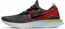 Nike Epic React Flyknit 2 SZ 11.5 BlackHyper Jade Red BQ8928-007