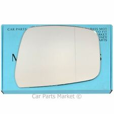 Right Driver side Wide Angle Wing mirror glass for Nissan Navara 2007-2015