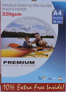 Black Diamond Mirror Ice Projet Sumvision Branded Double Sided Gloss Photo Paper
